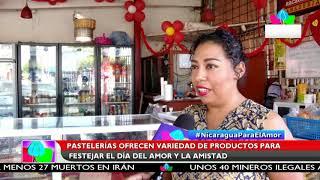 Multinoticias | Pastelerías ofrecen variedad de productos para festejar el día del amor y la amistad