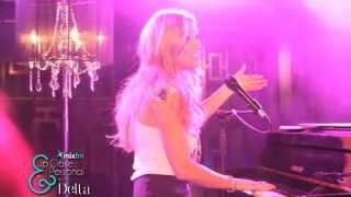 Delta Goodrem live Mix 106.5 Up Close Personal -I'm Not Ready