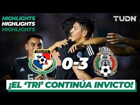 Resumen y Goles | Panamá 0 - 3 Mexico | CONCACAF Nations League   J 5 | TUDN