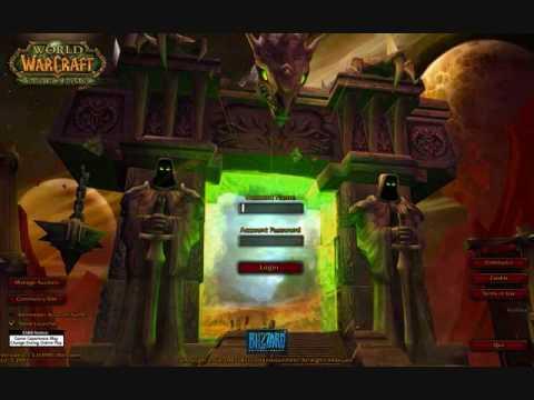 World of Warcraft Burning Crusade Login Music