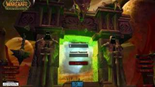 World of Warcraft Burning Crusade Login Music