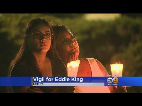 Vigil Held For Hemet Father Who Died In...