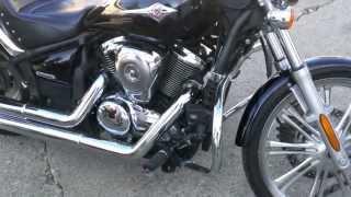 2009 used motorcycle cruiser for sale Kawasaki Vulcan 900 u1737