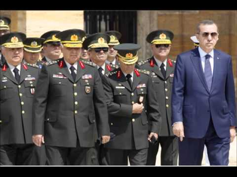 Erdogan Appoints New Military Commanders To The Turkish Army