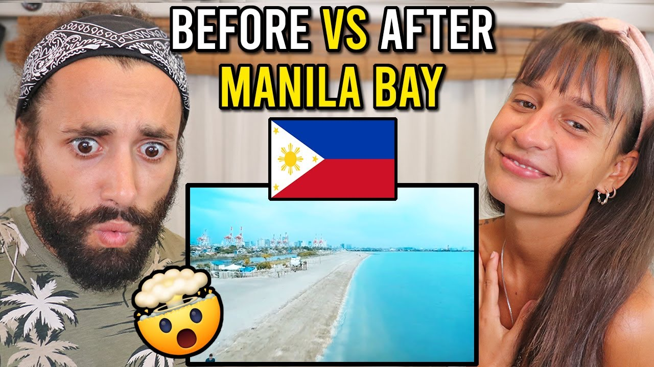 MANILA BAY BEACH Rehabilitation Before and After with Aerial View!