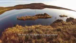 DJI Phantom 2 Vision+ The Bride of Test flights in Donegal, Ireland