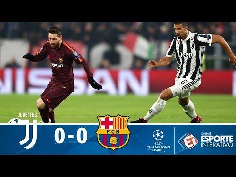 Melhores Momentos - Juventus 0 X 0 Barcelona - Champions League (22/11/2017)