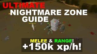 OSRS Nightmare Zone Guide | Melee & Range NMZ | 2007Scape Oldschool