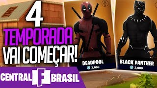 FORTNITE-NEW BATTLE PASS ARRIVES IN A FEW HOURS! -Central Fortnite Brazil