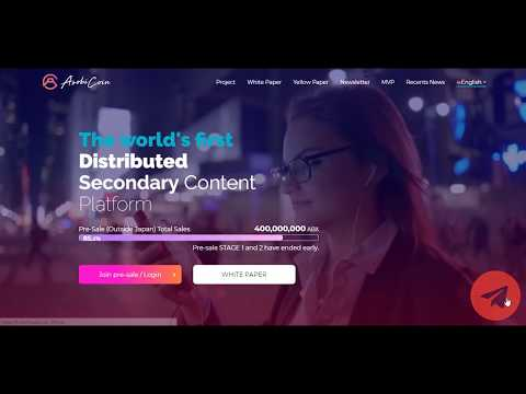 Asobicoin - Digital content trade on distributed secondary market