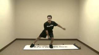 Alternating Lateral Squat with Dumbbell