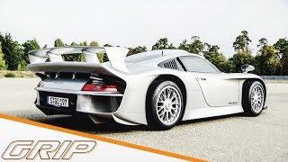Daniel Abt checkt 5-Millionen-Euro-Rennwagen I Porsche 911 GT1 I GRIP