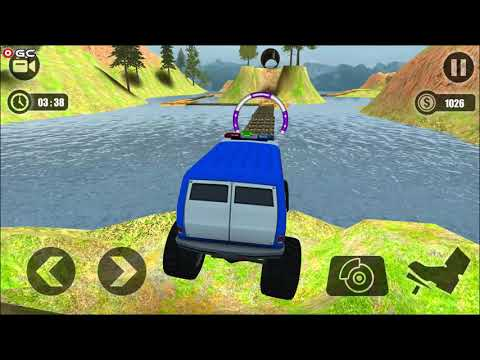 """Offroad Monster Truck Driving Trials 2019 """"Forest Offroad"""" Android Gameplay FHD #2"""