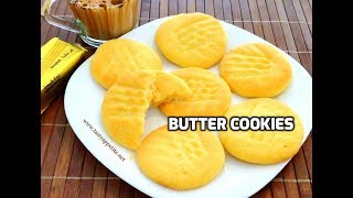 Butter Cookies Recipe | How to make Butter Cookies at home | TASTY APPETITE