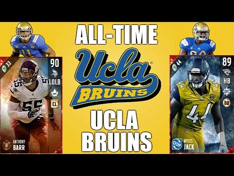 All-Time UCLA Bruins Team - Anthony Barr and Myles Jack! - Madden 17 Ultimate Team