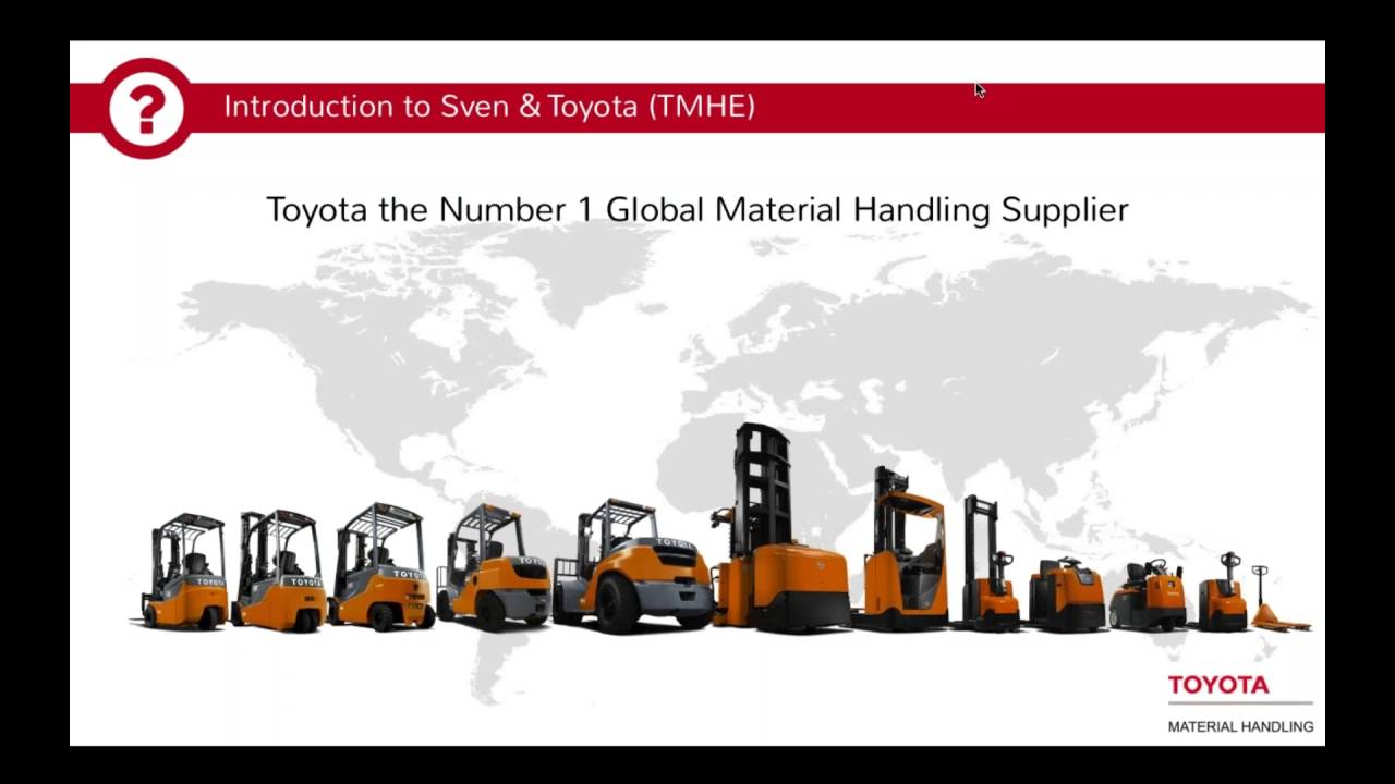 Toyotau0027s Sustainability Journey   A Joint Webinar With Toyota Material  Handling And CloudApps