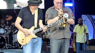 Santana - Sacalo (with Summertime) (Hamburg, Stadtpark, 2 Jul 2015) HD