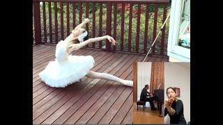 「白鳥」Swan:神尾真由子( KAMIO MAYUKO )針山愛美 (EMI HARIYAMA )ミロスラフ・クルティシェフ (Miroslav Kultyshev)