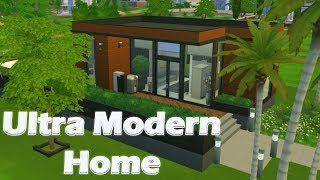 Ultra Modern Home | House Build (The Sims 4)
