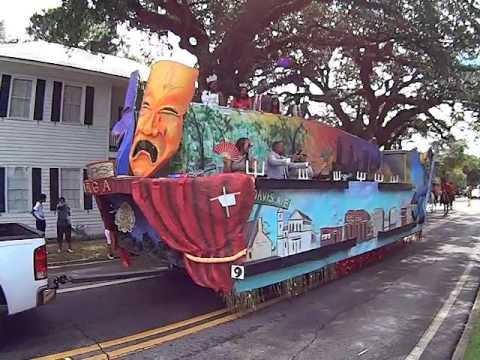 2016 5th Quarter Classic Parade in Mobile, Alabama