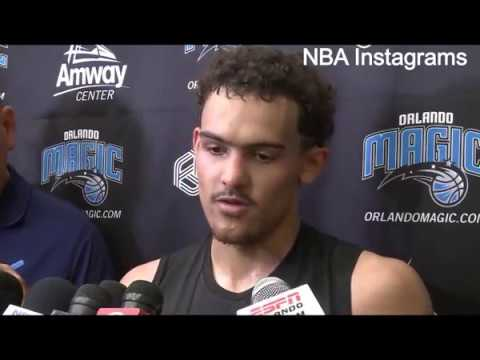Trae Young works out for Orlando Magic [NBA Draft 2018]