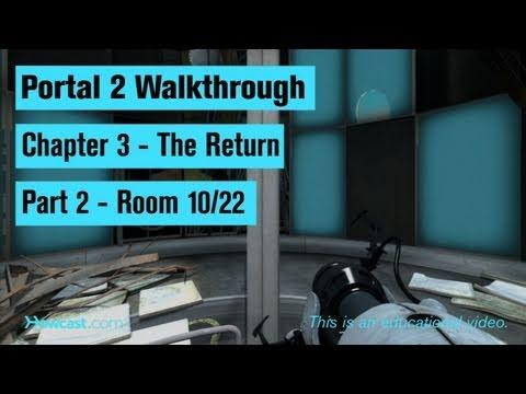 portal 2 walkthrough chapter 3 part 2 room 10 22 youtube. Black Bedroom Furniture Sets. Home Design Ideas