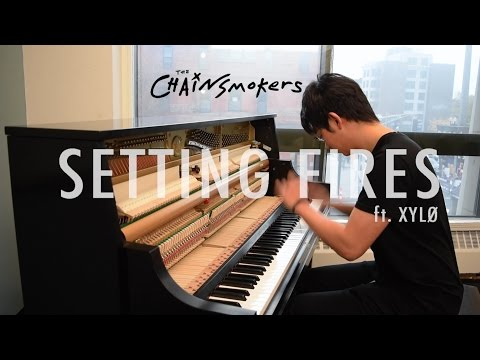 The Chainsmokers - Setting Fires ft. XYLØ (Tony Ann Piano Cover)