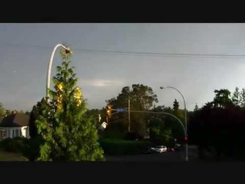 Lightning Storm - Victoria BC - July 13, 2012