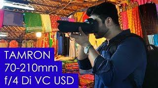 Tamron 70-210mm f 4 Di VC USD Lens Review - Best Travel Lens
