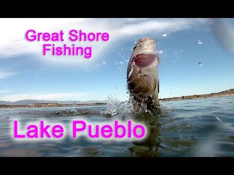 Lake Pueblo Shore Fishing Is On Fire!