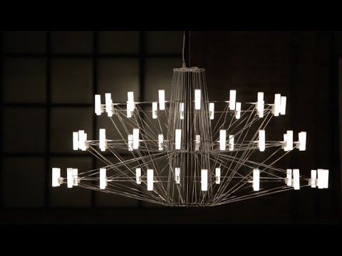 """Arihiro Miyake's Coppélia chandelier for Moooi could """"only be created with LEDs"""""""