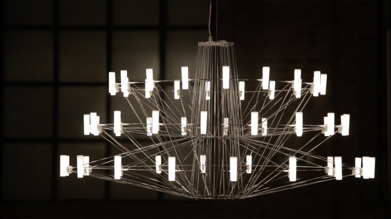 Arihiro Miyake S Coppélia Chandelier For Moooi Could Only Be Created With Leds