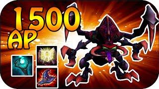 1500 AP Cho Gath - 1700+ True Dmg Ulti [Ger]