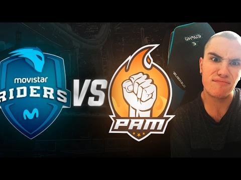 PAM vs Movistar Riders! Estreno Super Liga Orange de Call Of Duty - EupHo