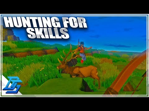 BOW HUNTING FOR SKILL POINTS w/ Royal! - ECO Global Survival - Pt.3