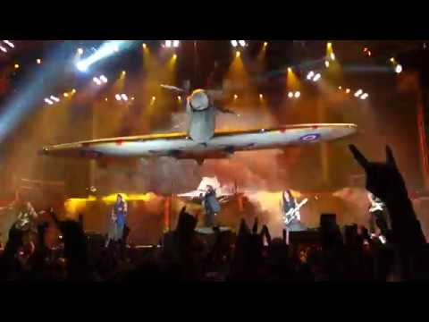 Iron Maiden - Aces High Live @ Tele2 Arena Stockholm 1.6.2018