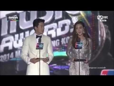 Kwon Sang Woo クォン・サンウ 2014MAMA(Mnet Asian Music Awards)TAEYANG -Song of The Year