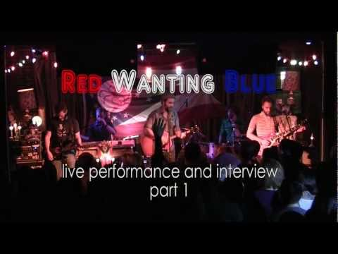 Red Wanting Blue - Finger in the air, White Snow, Walking Shoes  live performance