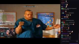 "summit1g reacts to ""Scrubs - Turk Dance To Poison By Bell Biv Davoe ( HD )"""