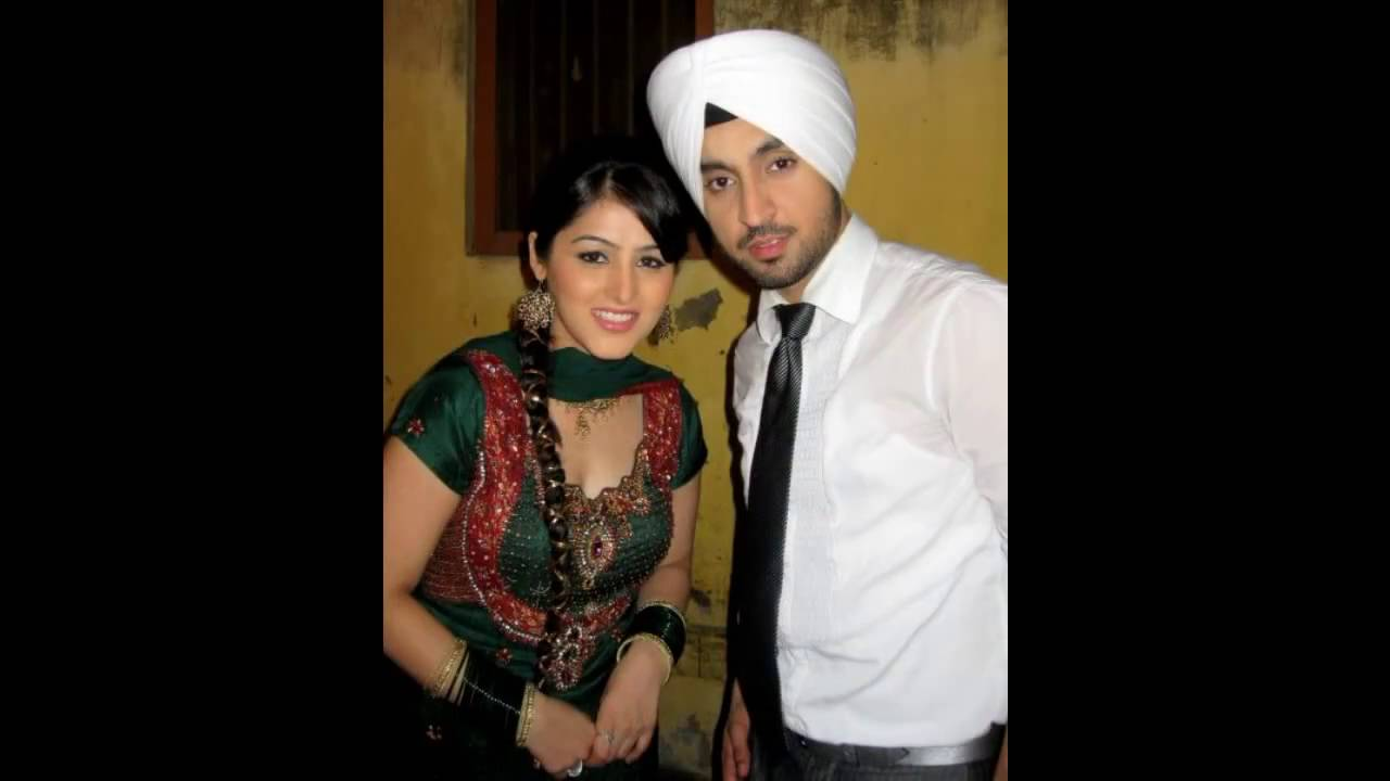 Diljit Wife || Diljit with Wife - YouTube