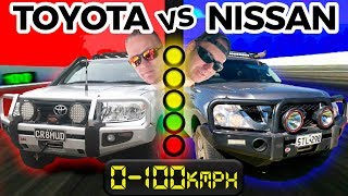 Battle Series Ep 3 - 200 Series vs Y62 - 0-100km/h