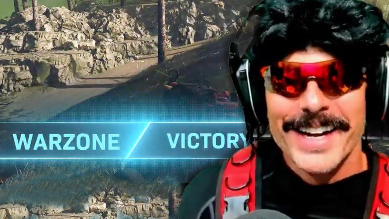 DrDisrespect BREAKS HIS RECORD in Warzone Solos!