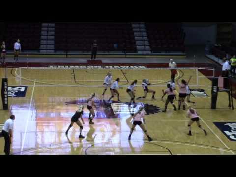 Edinboro Volleyball at IUP
