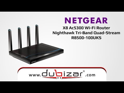 NETGEAR X8 AC5300-R8500-100UKS-dubizar.com - Online Store Dubai, U.A.E.