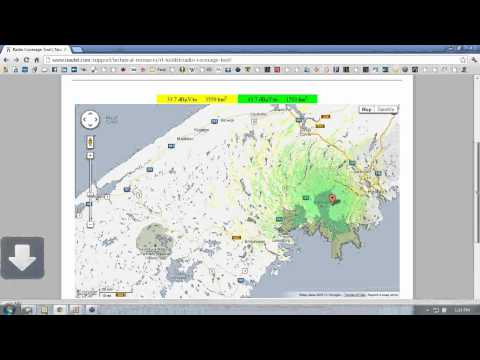 Overview of the Nautel Radio Coverage Tool