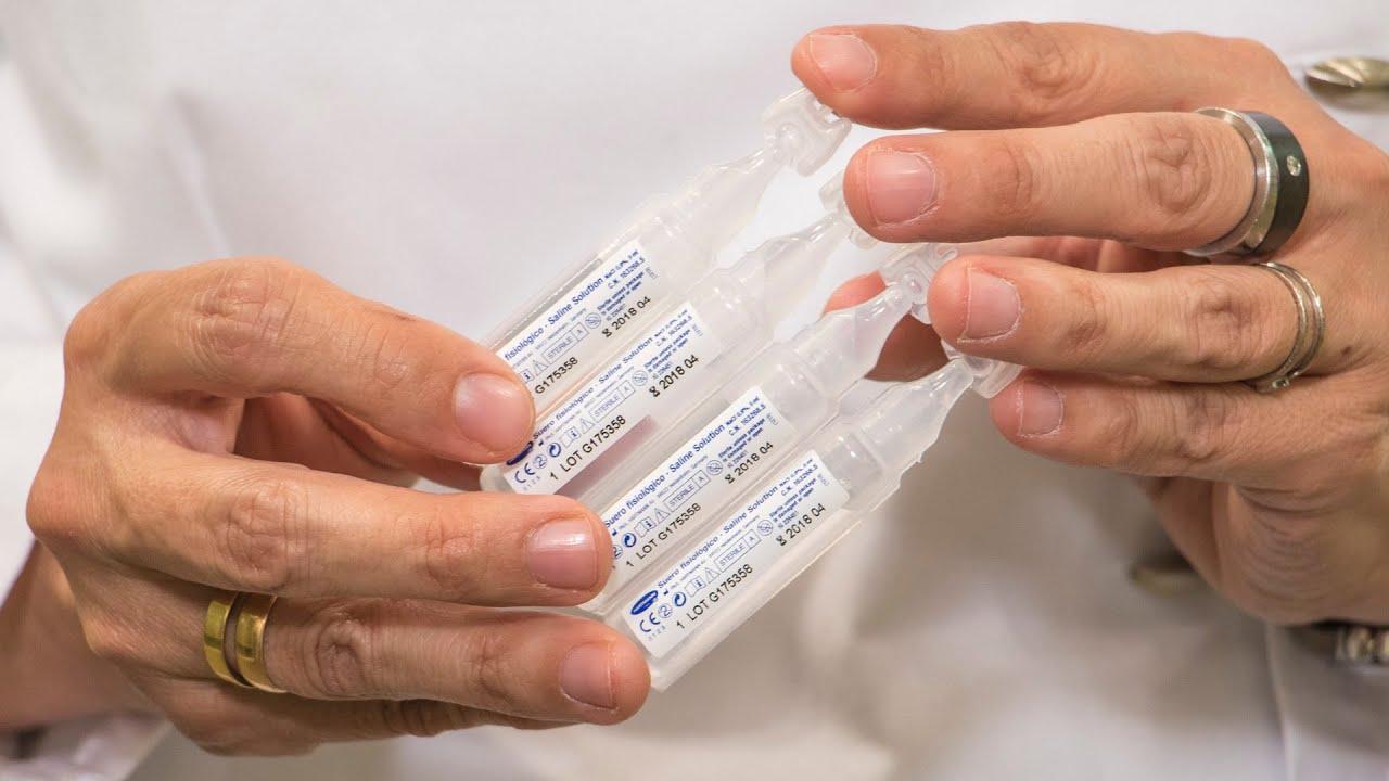 nebulizacion con suero salino