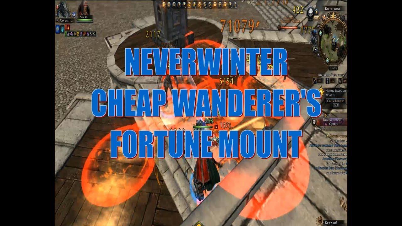 how to get mount neverwinter