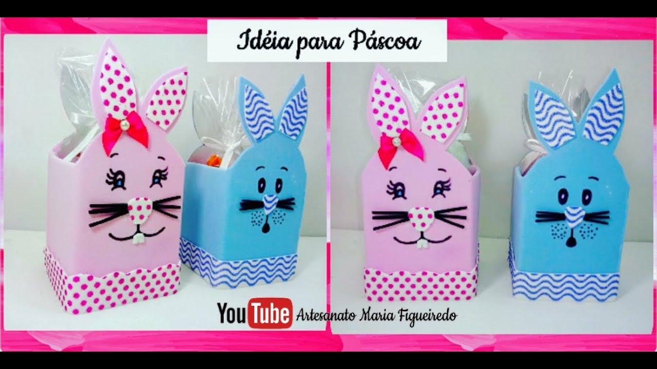 Adesivo De Unha Bailarina ~ IDÉIAS Para Páscoa com Caixa de LEITE Feat Diy Fabiana Nogueira ud83d udc96 ud83d udc30 YouTube