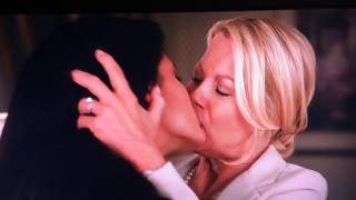 Rebecca And Paris First Kiss. A Perfect Ending