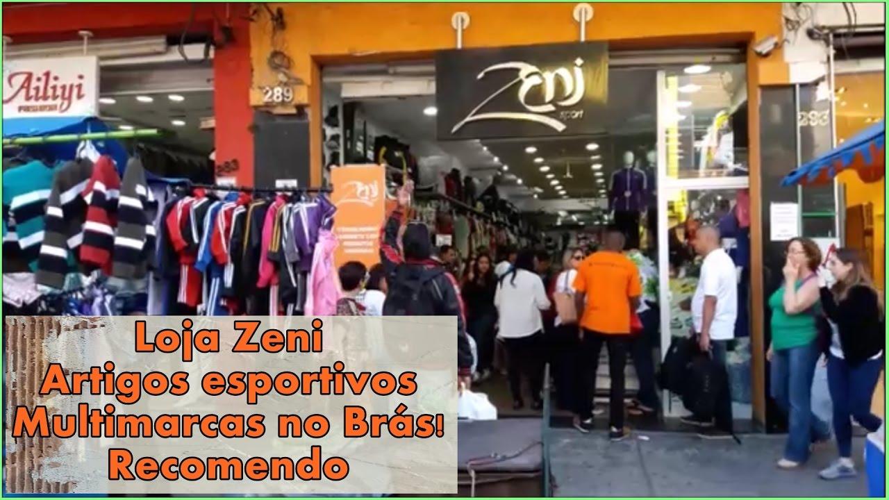 aad2998ec Loja Zeni artigos esportivos no Brás! Recomendo ツ - YouTube